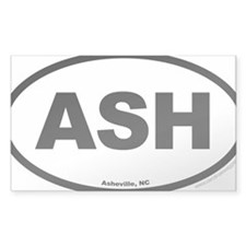 Asheville North Carolina EURO  Decal