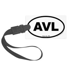 Asheville North Carolina EURO Ov Luggage Tag