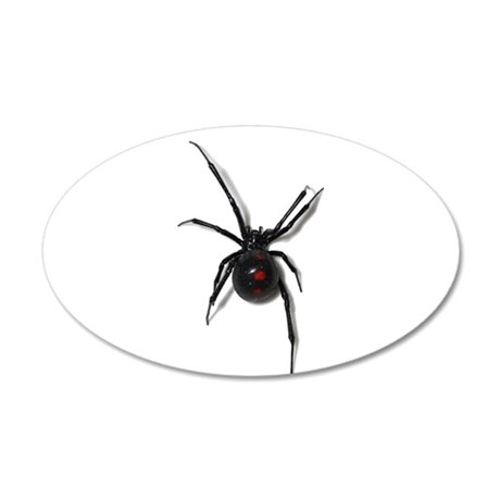 Black Widow No text Wall Decal