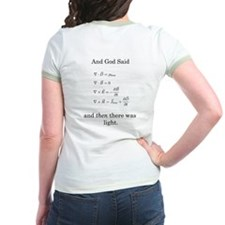 God Said Maxwell's Equations T