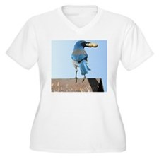 Cute Bluebird wit T-Shirt