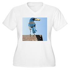 Cute Bluebird wit T-Shirt
