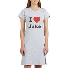 i_love_jake copy Women's Nightshirt