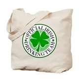 Irish Drinking Team (Shamrock) Tote Bag