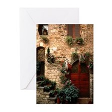 Italian Doorway Greeting Cards (Pk of 10)
