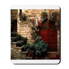 Italian Doorway Mousepad