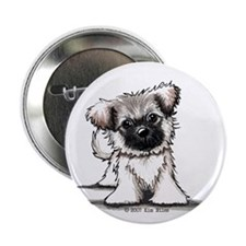 "Tibetan Spaniel 2.25"" Button (100 pack)"