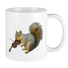 Squirrel Violin Mug