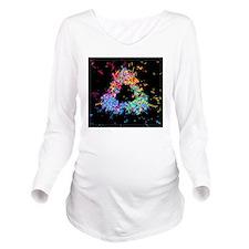 Visualisation of qua Long Sleeve Maternity T-Shirt