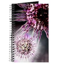 Virus particles, conceptual artwork Journal