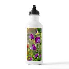 Vetchling (Lathyrus cl Sports Water Bottle