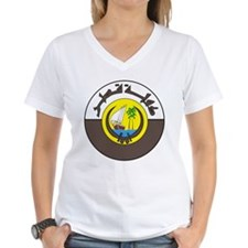 Qatar Coat of Arms Shirt