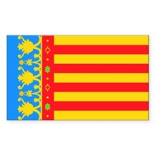 Valencia Rectangle Decal