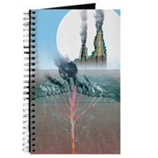 Underwater volcanic vents, artwork Journal