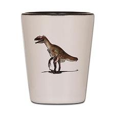 Utahraptor dinosaur Shot Glass