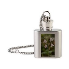 Twinflower (Linnaea borealis) Flask Necklace