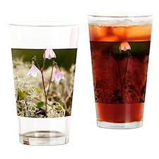 Twinflower (Linnaea borealis) Drinking Glass