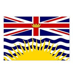 British Columbia Flag Postcards (Package