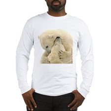 Polar Bear Hugs Long Sleeve T-Shirt