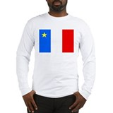 Acadia Flag Long Sleeve T-Shirt