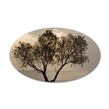 Tamarisk tree Wall Decal