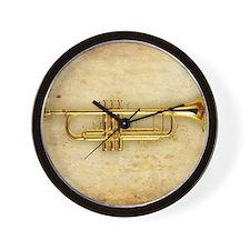 Trumpet (square) Wall Clock