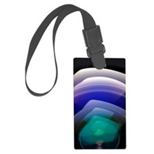 Surface of a lens Luggage Tag