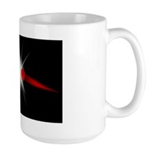 Subatomic collision Mug