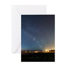 Stars in a night sky Greeting Card