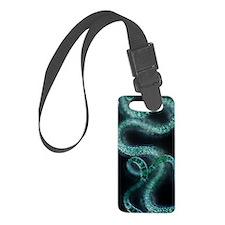 Spirulina cyanobacteria, light m Luggage Tag