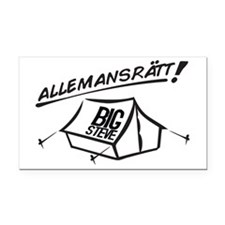 Allemansrätt Rectangle Car Magnet
