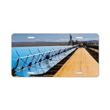 Solar power plant, Californ Aluminum License Plate