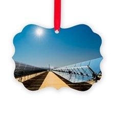 Solar power plant, California Ornament