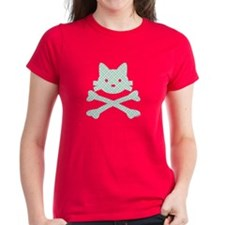 Plaid Kitty X-Bones by Rotem Gear Tee