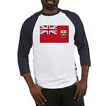 Manitoba Flag Baseball Jersey