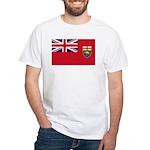 Manitoba Flag White T-Shirt