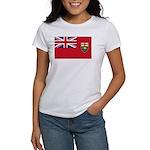 Manitoba Flag Women's T-Shirt