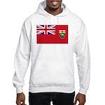 Manitoba Flag Hooded Sweatshirt