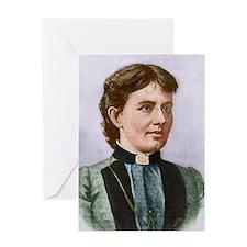 Sofia(Sofya) Vasilyevna Kovalevskaya Greeting Card