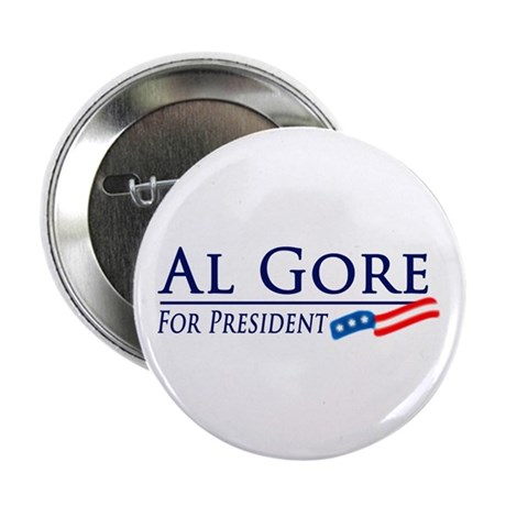 Al Gore for President Button