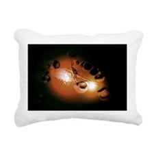 Cancer cells Rectangular Canvas Pillow