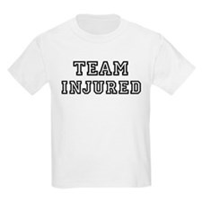 Team INJURED Kids T-Shirt