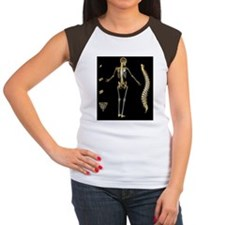 Skeleton and spine, com Tee