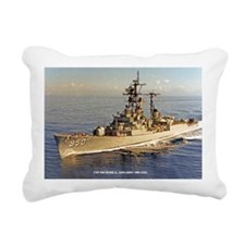 uss rsedwards large fram Rectangular Canvas Pillow