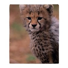 Cheetah cub, Masai Mara National Res Throw Blanket