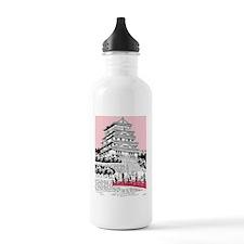 Tourists on bridge by  Water Bottle
