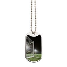 USA, California, Ladera Ranch, Football i Dog Tags