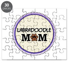 Labradoodle Dog Mom Puzzle