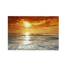 Peaceful Sunset Rectangle Magnet