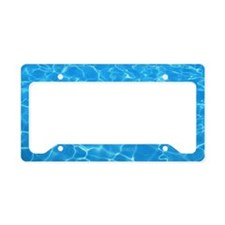 Water License Plate Holder